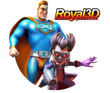 Royal 3D Slot Game logo